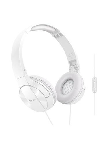 Pioneer SE-MJ503-T-W Kulaküstü Mikrofonlu Kulaklık Beyaz